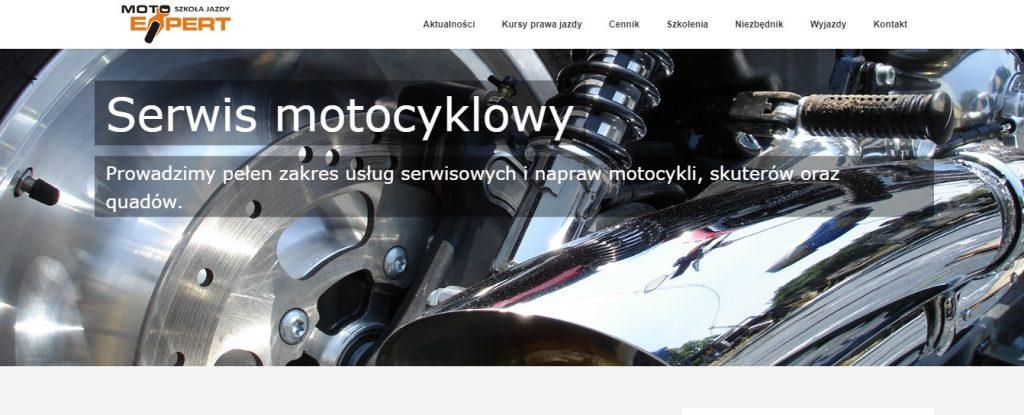 Moto Expert też Prowadzi pełen zakres usług serwisowych i napraw motocykli, skuterów oraz quadów.