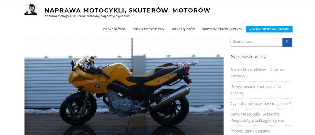 Naprawa motocykli, serwis skuterów, naprawa silników w Quadzie, diagnostyka elektroniki, tanio