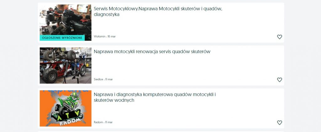 Naprawa quadów Mazowieckie Warszawa na OLX