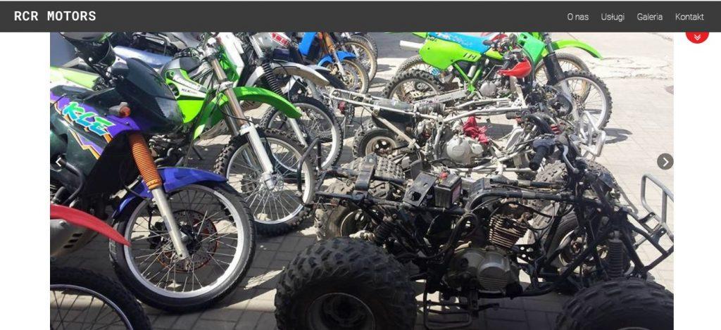 RCR Motors - Serwis Yamaha, Kawasaki, Suzuki, Honda - Tanie Naprawy Quadów
