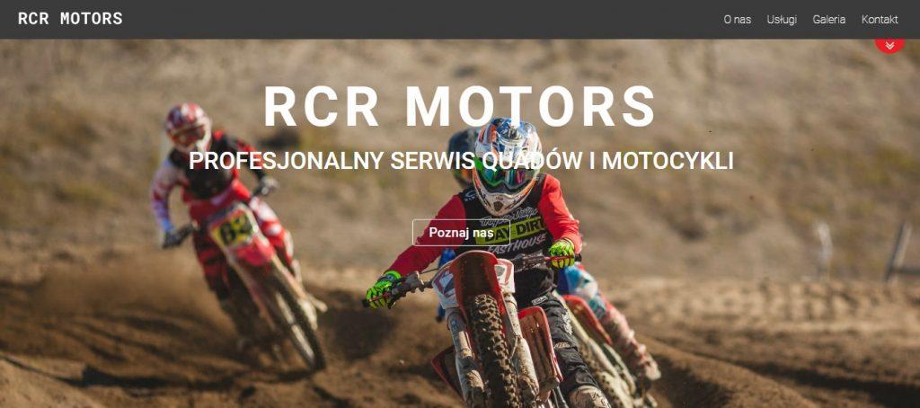 RCR Motors - Serwis Quadów i Motocykli Yamaha, Kawasaki, Suzuki, Honda