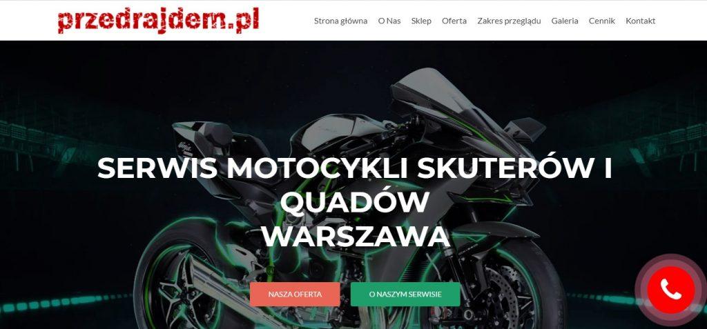 SERWIS MOTOCYKLI SKUTERÓW I QUADÓW WARSZAWA - Przed Rajdem